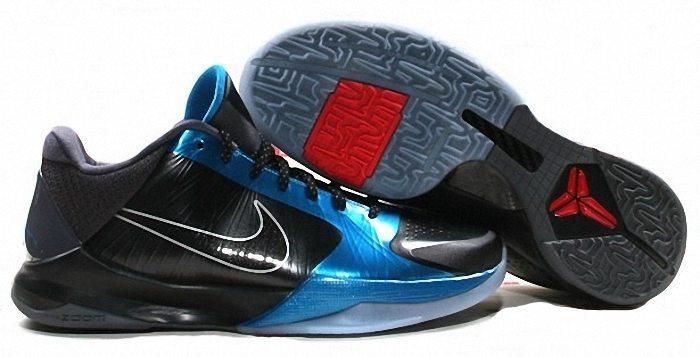 Kobe Bryant Nike Zoom Kobe V (5), Dark Knight Edition with colors black